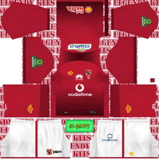 299a21b47 Dream League Soccer Kits Al Ahly 2018-19 Kit   Logo