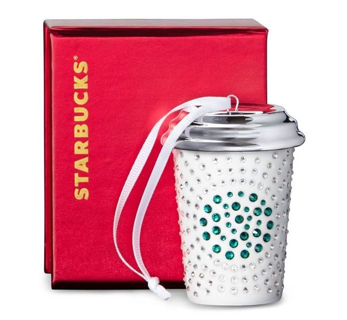 Swarovski-Studded Starbucks Drinkware Bring Holiday Cheers Early