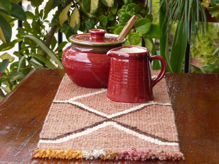 Azucarera y lechera de cerámica. (Obra Inspiración Sustentable)