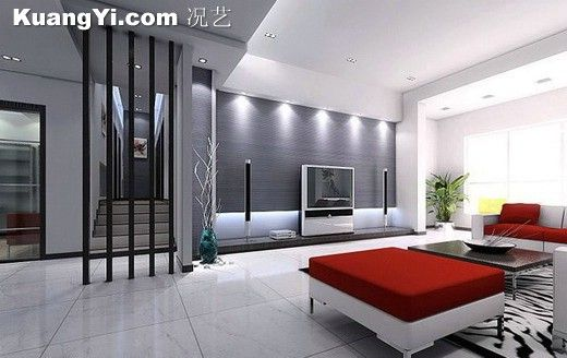glass]thermoclinesimple generous modern living room modern indoor