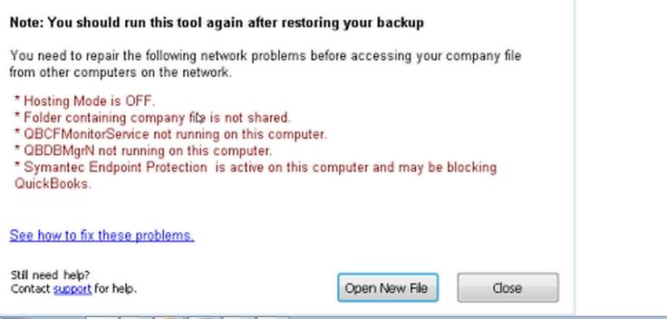 A quick Fix to this issue: Temporarily disable antivirus software and reboot your system 1. Reboot your computer. 2. Open QuickBooks; if the error persists, try temporarily disabling your antivirus program. Note: you may need to refer to your antivirus programs help menu or ask a qualified IT professional for assistance. 3. After temporarily disabling the antivirus program, open QuickBooks.  https://www.wizxpert.com/quickbooks-not-working/