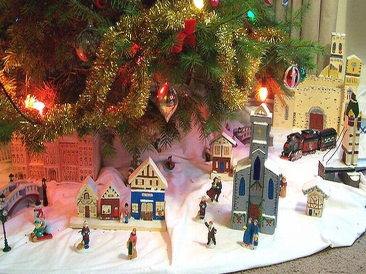 Best Christmas Scenes Images On Pinterest Caroler Christmas - Old fashioned christmas decorating ideas