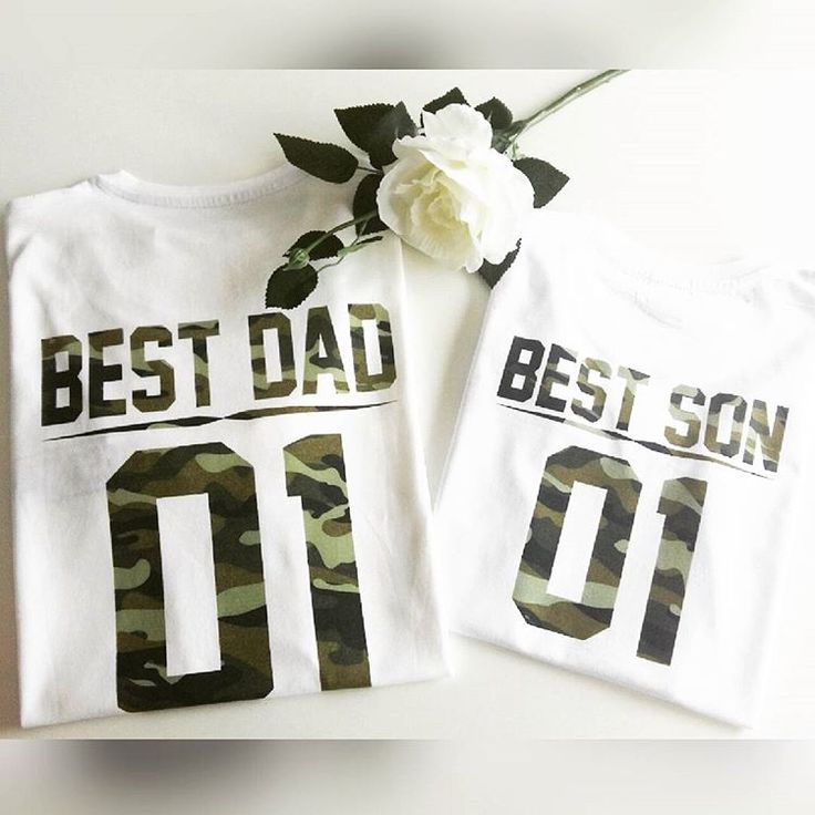 Best Dad Best SON fathers Day gift ideas, Father and son shirts, Dad and baby matching outfits