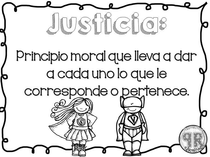 Frases Infantiles Sobre El Valor De La Justicia En El Mundo: Más De 25 Ideas Increíbles Sobre Valor Justicia En