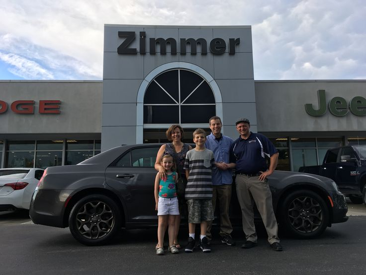 John Hodge knew he needed a full-size sedan for both his family and his business. Sales Consultant Bryan Marsh helped him narrow it down to this stunning 2017 Chrysler 300S Alloy edition. Congratulations John! It was a pleasure for Bryan and our staff to take care of you and your family, sir! https://www.zimmermotor.com/staff.aspx