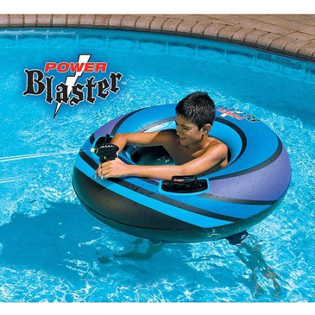 Power Blaster Inflatable Pool Toy, Multicolor