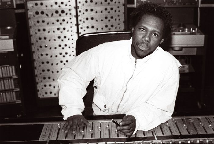 Mr. Nile Rodgers with a wall of 24 Pultecs