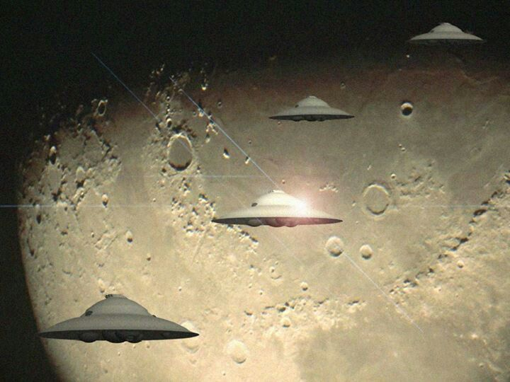 ancient aliens moon landing - photo #2