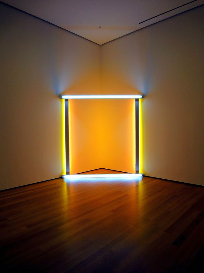One simple idea can be extra powerful.   Dan Flavin (MoMA NY) by Minu Chawla, via 500px