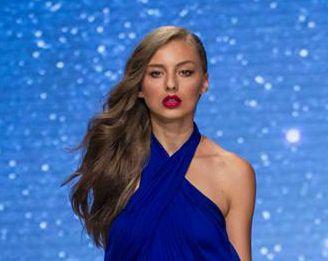 Veronika Hložníková fashion show