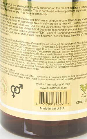 Pura D'or Premium Organic Anti-Hair Loss Shampoo