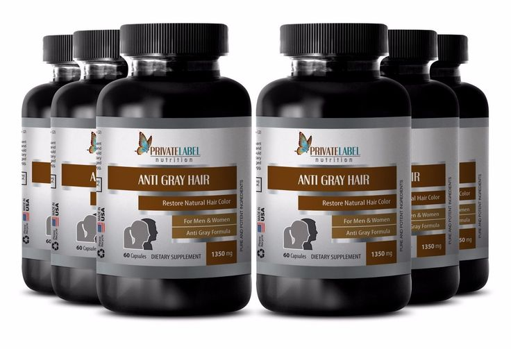 Female Hair Loss Prevention - Anti Gray Hair 1350Mg - Nettle Root Extract 6B