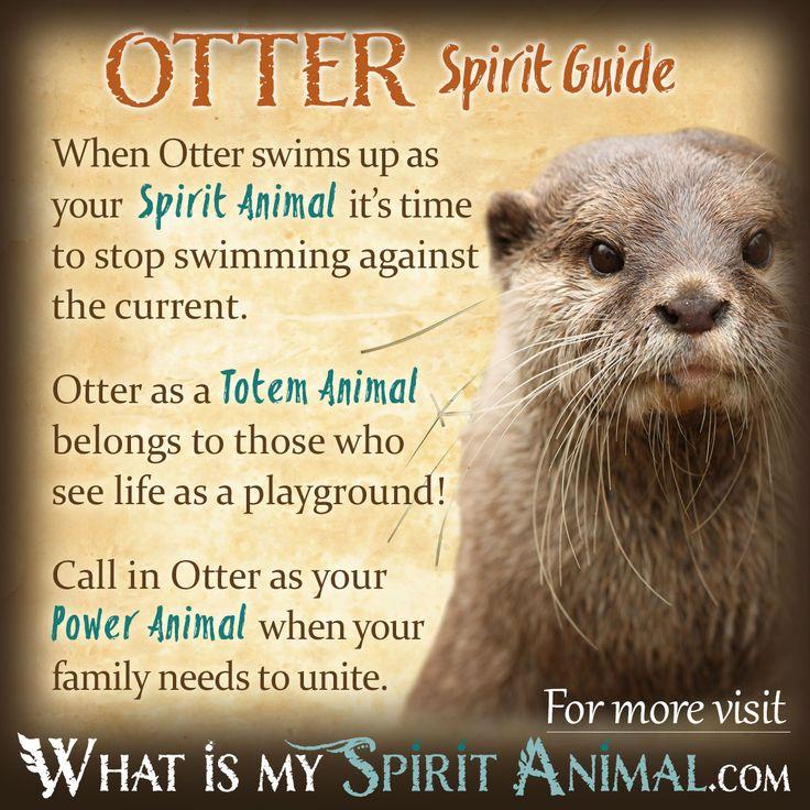Otter Spirit Totem Power Animal Symbolism Meaning 1200x1200