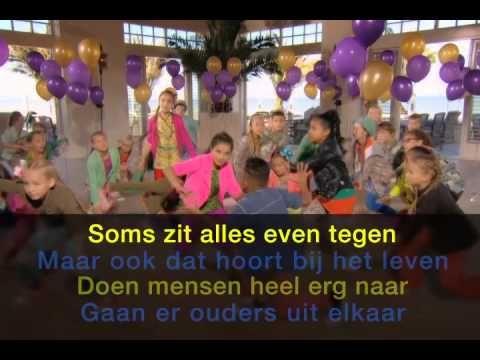 Feest! - Kinderen voor Kinderen (met zang) Kinderboekenweek 2014 - YouTube
