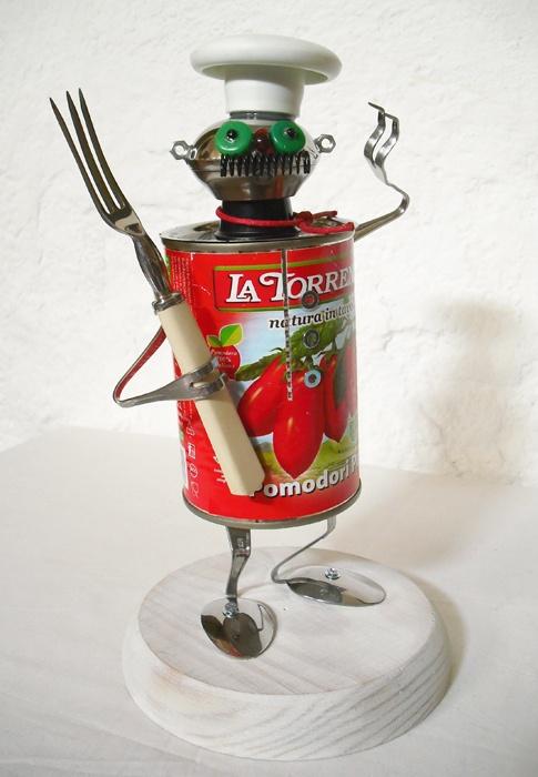 Gino, the Italian robot-chef  http://1unik.blogspot.com.es