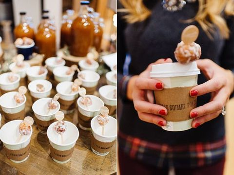 I love all types of winter affairs – engagements, weddings and showers of all kinds. If you are planning a winter bridal shower and are looking for adorable ideas, here we are! Warm up yourself and your girls with hot cocoa and tea...