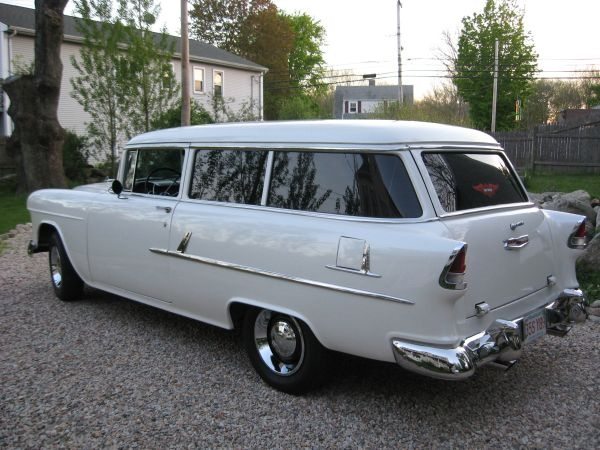 55 Chevy 2 door Wagon | O L D C A R S | Pinterest | Chevy ...
