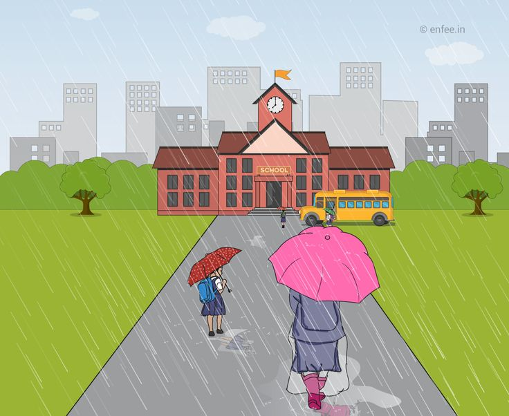enFEE  Simple ways to protect your school-going children during the rainy season