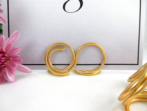 Infinity Table Number Holder Wedding Table Number Stand Set