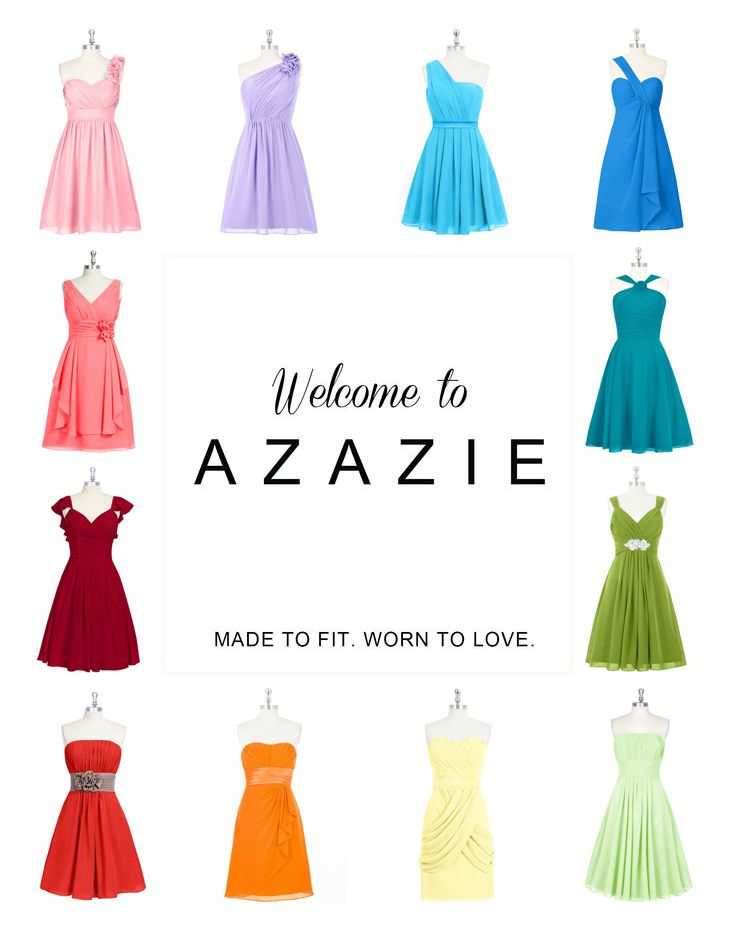 Azazie is the online destination for special occasion dresses. Our online boutique connects bridesmaids and brides with over 400 on-trend styles, where each is available in 30+ colors.
