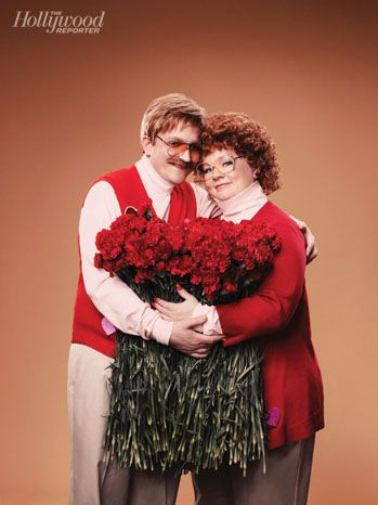 Valentine's Day Shoot with Melissa McCarthy and her husband, Ben Falcone