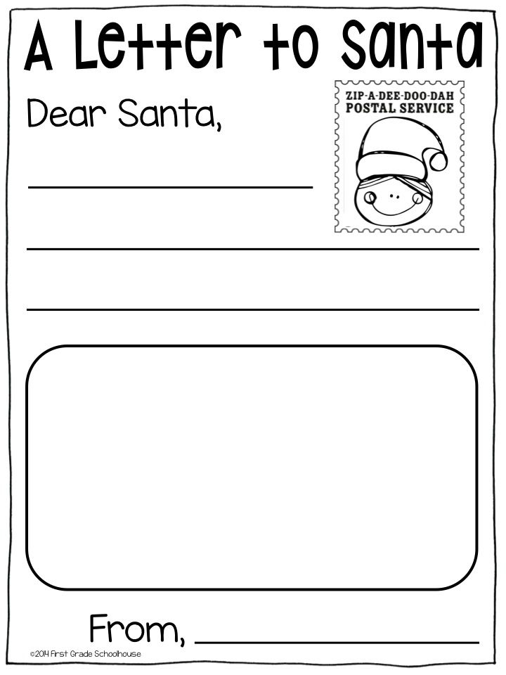 121 best letters to santa images on pinterest christmas for Dear santa template kindergarten letter
