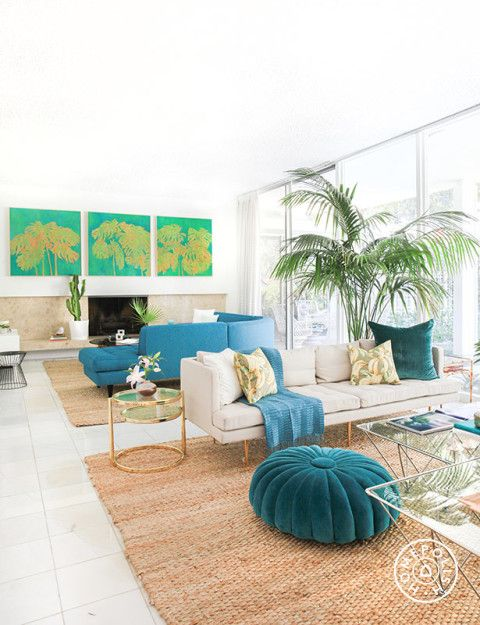 // Kelly Oxford's Palm Springs-Inspired Paradise - @Homepolish Los Angeles