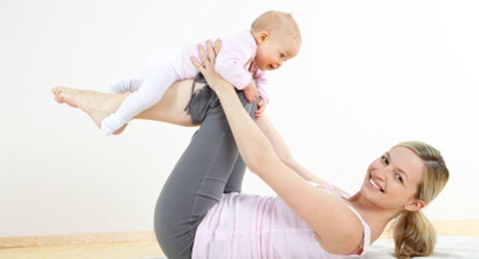 Tornare in forma dopo la gravidanza?