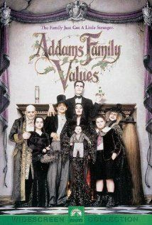 A comical Gothic horror-movie-type family tries to rescue their beloved uncle from his gold-digging new love.
