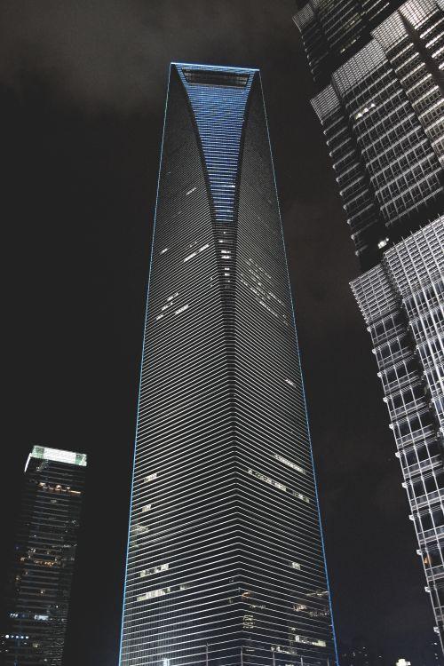Shanghai World Financial Center, Jin Mao Tower, #ShanghaiTower Nakagin Capsule Tower, #Skyscraper #Architecture #Car Goldin Finance 117 - Follow @thegeniusboss for more pics like this!