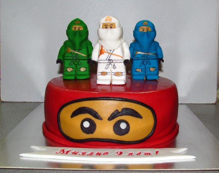 торт Ниндзяго лего #торт_на_заказ_днепродзержинск #мульт_герои
