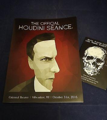 Houdini Seance The Official Program October 31st 2016 Oriental Theater Collectibles:Fantasy, Mythical & Magic:Magic:Magician Memorabilia, Ephemera www.webrummage.com $9.99