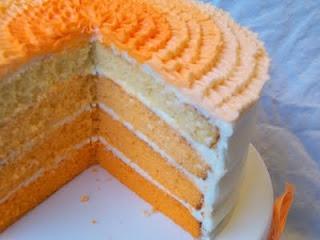 Orange Creamsicle Cake with Orange Creamsicle Frosting Recipes