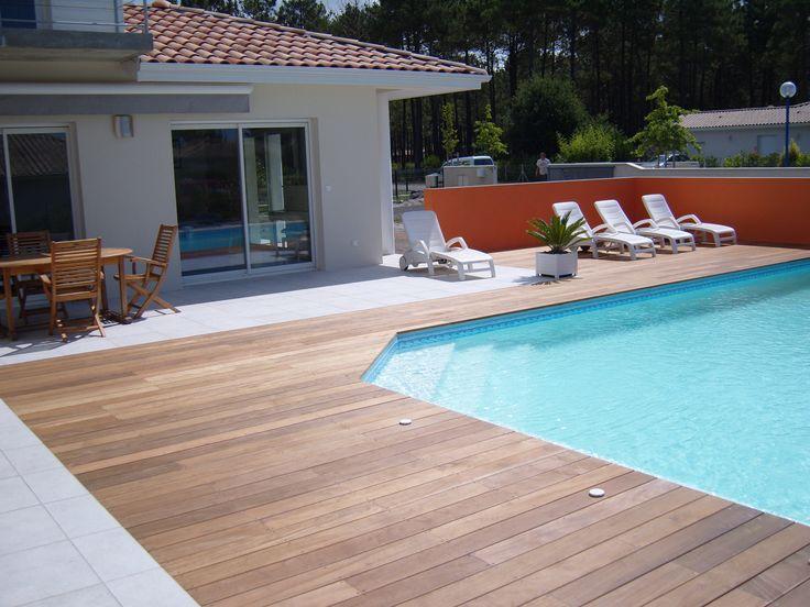 1000 images about pose de terrasse bois on pinterest cap d 39 agde and fe - Prix d une piscine en dur ...