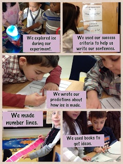 Our Kindergarten Journey is using PicCollage to share Daily Goals. I like the…