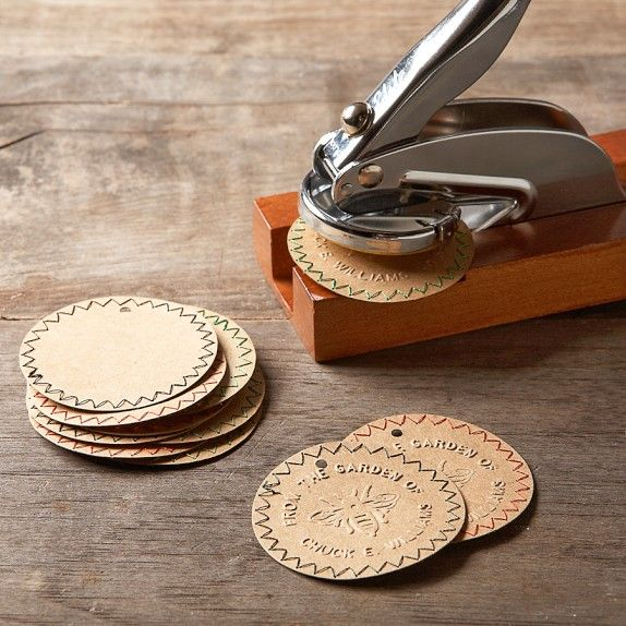"""""""From the Garden of"""" Personal Embosser with Stand 