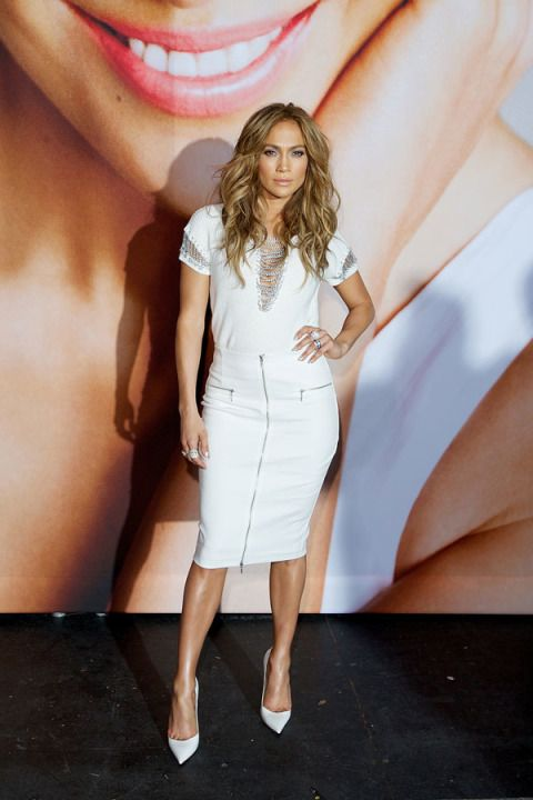 J.Lo hosts a private fashion show for Kohl's associates in Menomonee Falls, Wisconsin on June 13, 2014.