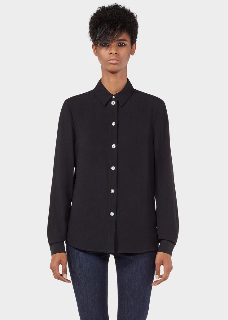 Camisa cremallera cons de león - negro Camisas y Blusas