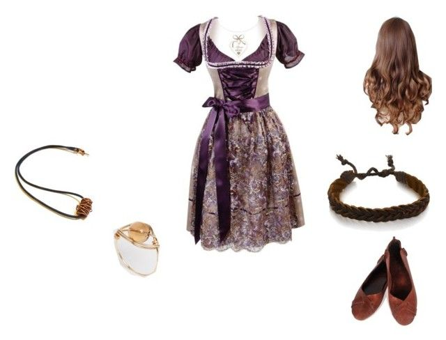 """Middle Earth Hobbit From The Shire"" by mysherm6775 ❤ liked on Polyvore featuring moda e Kat&Bee"
