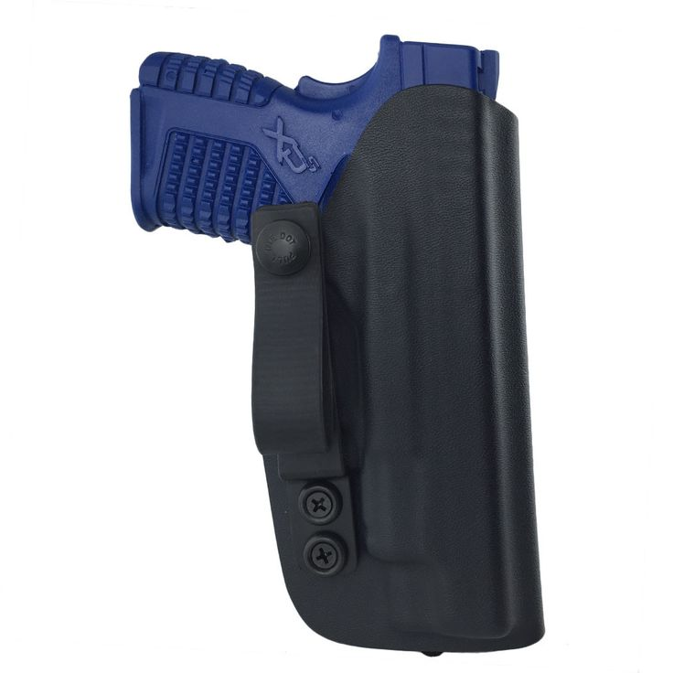 SPRINGFIELD ARMORY XDS 4.0 INCH .45 ACP/9MM - IWB or Appendix Carry Holster- Right or Left Handed - Black