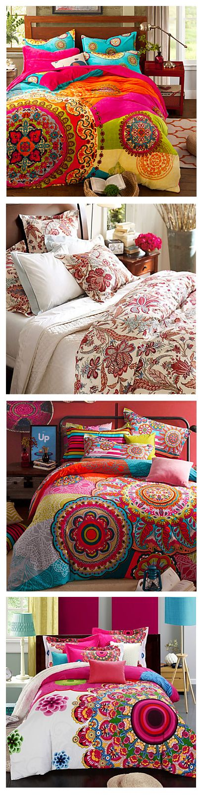 Be warm and cozy this winter with these duvet covers from LightInTheBox! Check here, we have many patterns!