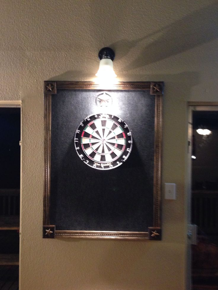 Dart backboard. Easy to make