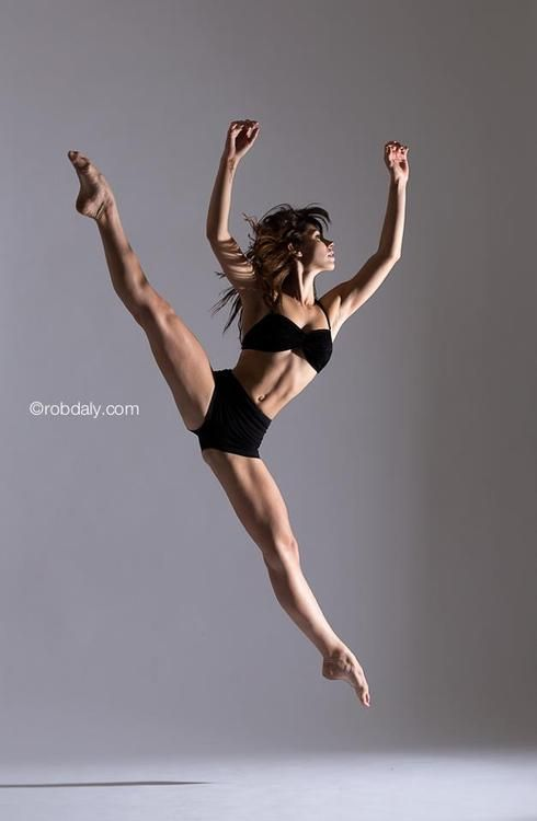 Perfect leap. Perfect feet. Perfect abs. Perfect arms. Just perfect everything.