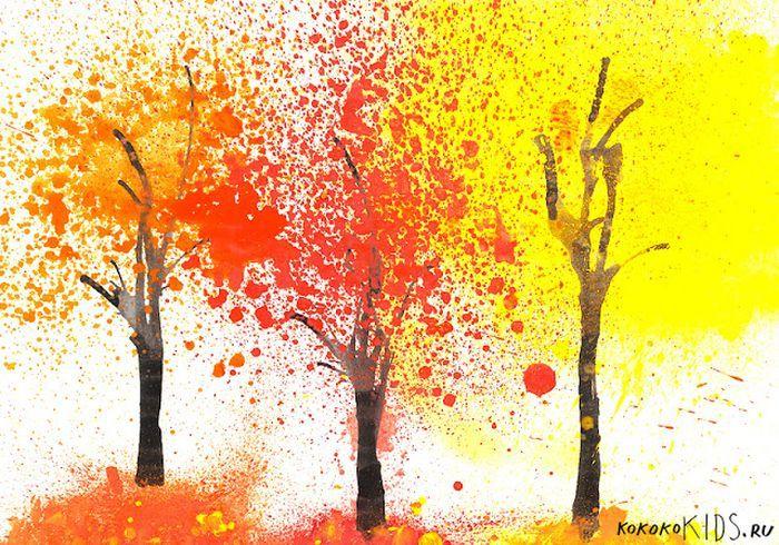 Девушка Осень Рисунок Для Детей - Фото база ...  Девушка Осень Рисунок