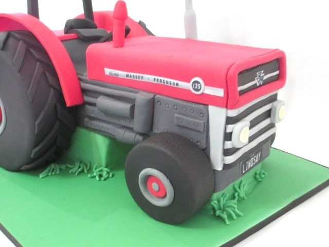 Tractor Pulling Ski Boat Pulling Waterskiier To celebrate this gentlemen's 60th birthday, his wife ordered cake replicas of his 1968...