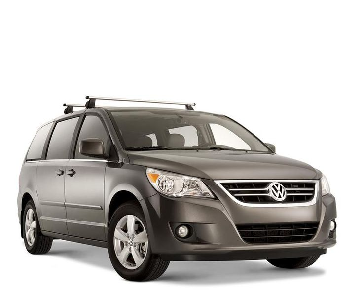 The Genuine OEM 2009-2013 Vw Routan Roof Rack Bars (J006)! Easily installed with T-Slot channels! Comes with two cross bars and locking key-bolts! Refer to owner's manual for specific carrying capacity. Carrying Capacity of 165 lbs, evenly distributed.