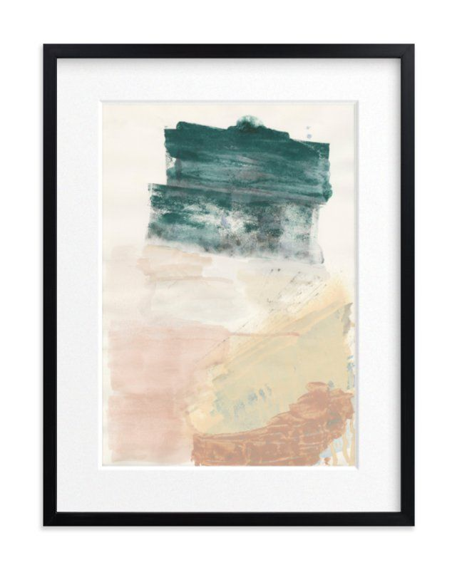 The layers beneath art print by lauren packard in beautiful frame options and