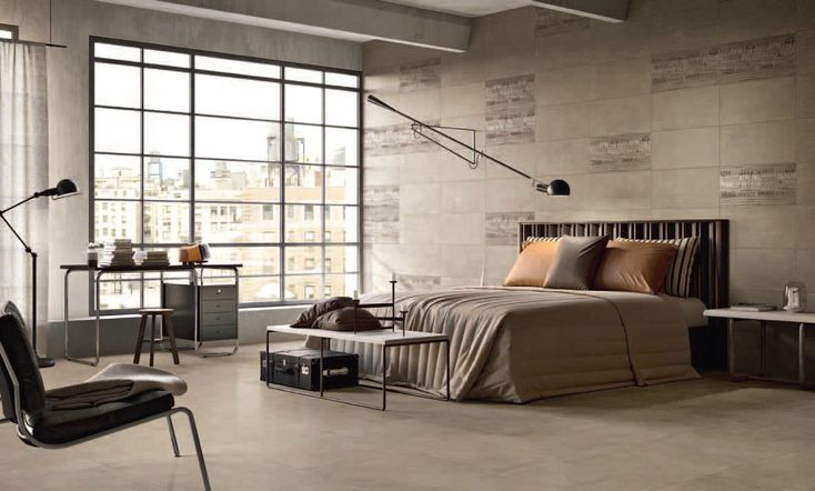 Slaapkamer wandtegels vloer
