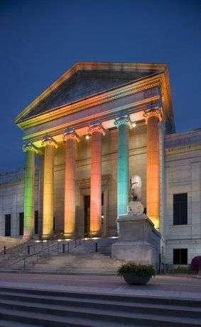 The Minneapolis Institute of Art | Minneapolis, Minnesota | An art museum compared to a  small-scale Met, featuring the same kind of grand architecture but at a size that feels intimate.