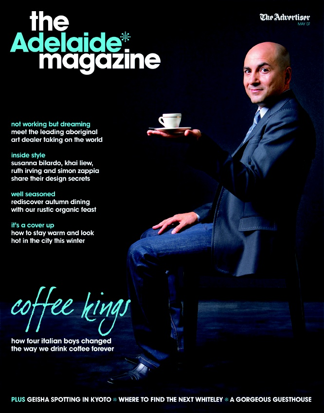 FLASHBACK: May 07  With the colder weather setting in, May's issue was dedicated to 'warming up inside'. And where better to start than with a hot steaming coffee and our cover story on local coffee kings, Cibo.